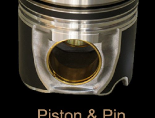 Piston and Pin Benz